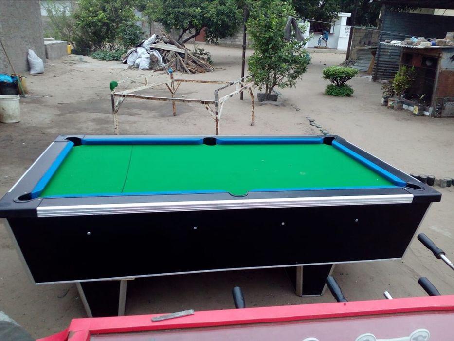 Vendo mesas de Billhar comercial nova com todos Acessorios Maputo - imagem 4