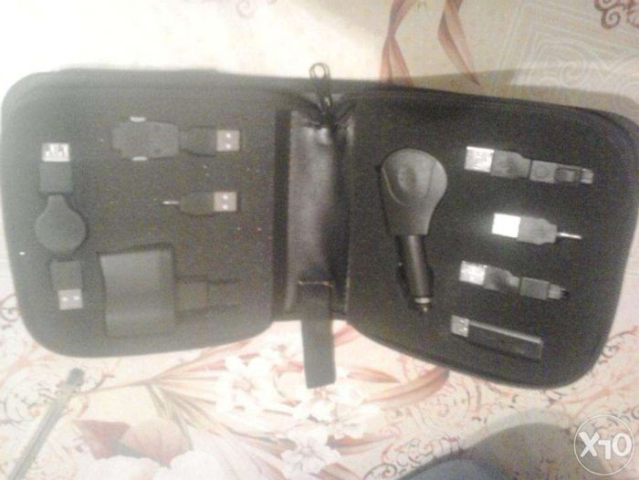 set USB de incarcatoare diverse telef (auto si priza)