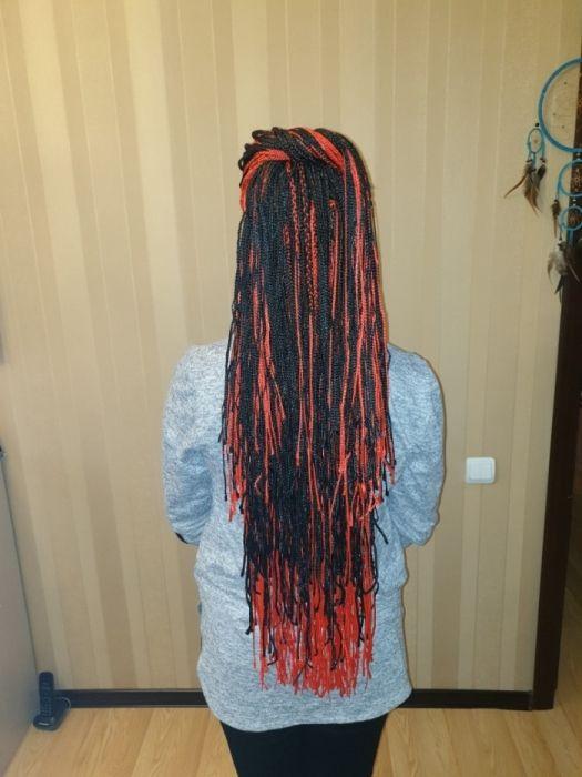 Плетенеие/расплетение афро, зизи, д.е. кос/дред в домашней студии Алматы - изображение 3