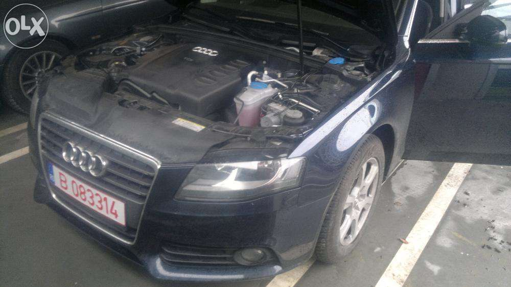 Montaj amplificare statie subwoofer Audi A4 B8 2008-2011