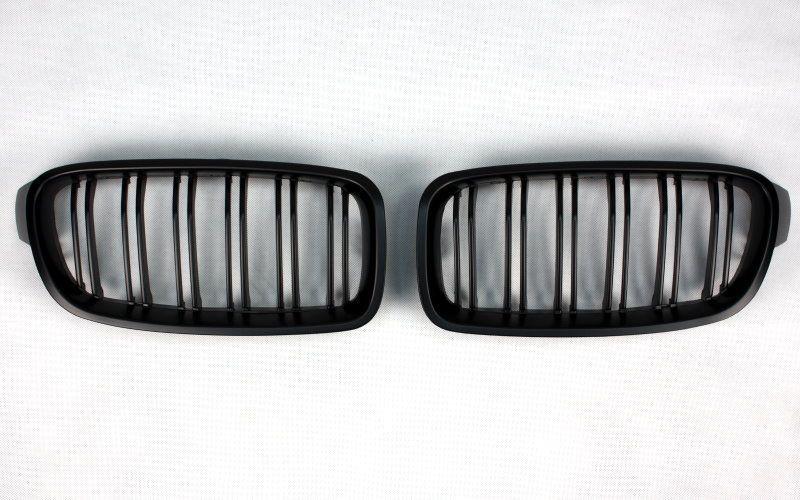 Grile BMW F30 F31 M3 M4 look - finisaj negru mat Timisoara - imagine 5