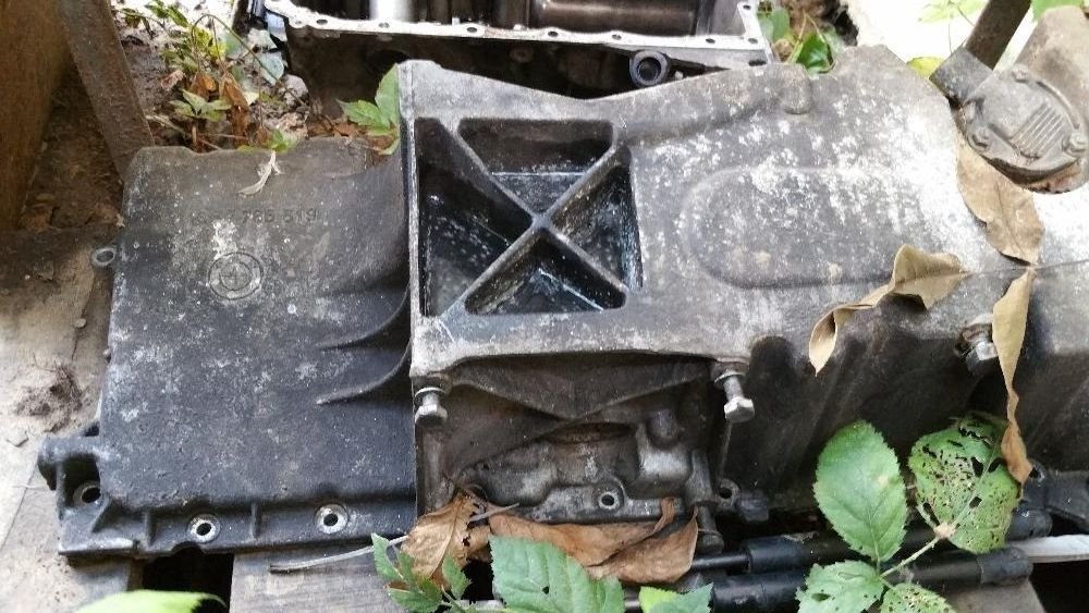 vand baie de ulei bmw e46 motor 3.0 model 4x4 de 184 si 204 cai