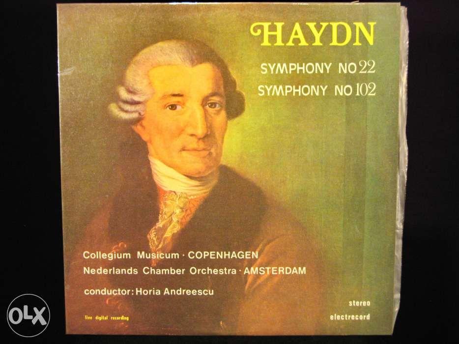 Disc vinil pik-up HAYDN Symphony No. 22 & No.102 - Electrecord 1985