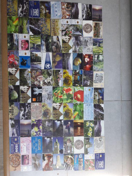 Colectie cartele telefon ( peste 90 de bucati unice)