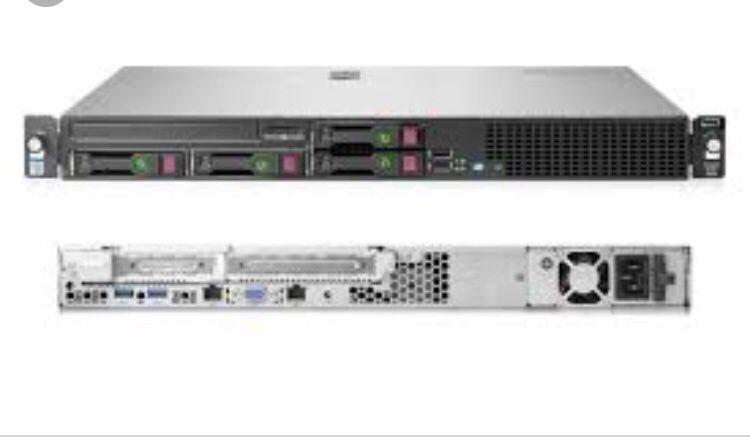 Servidor HP proliant DL20 Gen9 novo na caixa