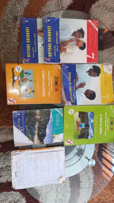 Alguns Livros segunda mao da 3a,4a,6a,7a classes