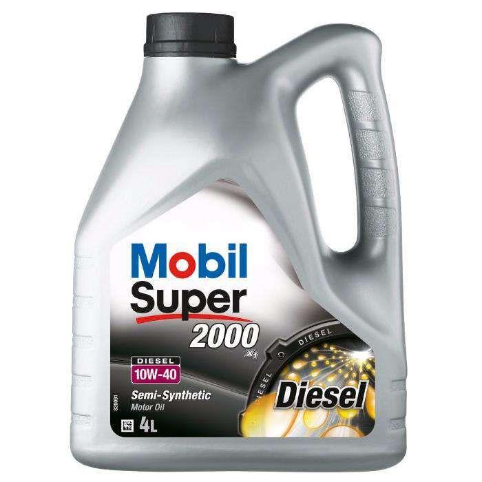 Ulei motor Mobil Super 2000 X1 Diesel, 10W40, 4L