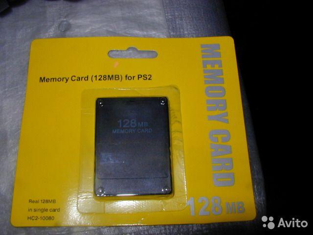 Карта памет за сони плейстейшън 2-Memory Card playstation-128mb Ps2