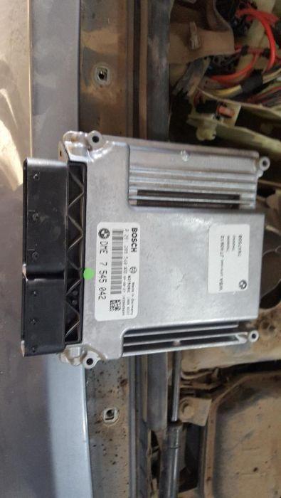 продам блок управление двигателем бмв 120 е-87 N46