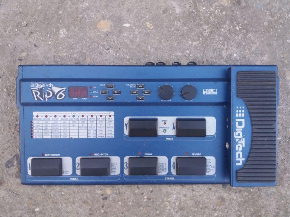 procesor efecte chitara Digitech RP6 DEFECT