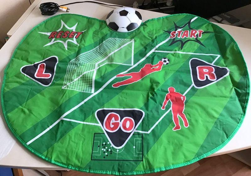 Joc copii pe TV Vertual Football, include 4 jocuri preinstalate