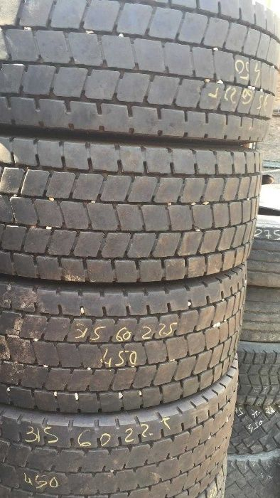 Anvelope second hand camion 315/60R22.5 tractiune