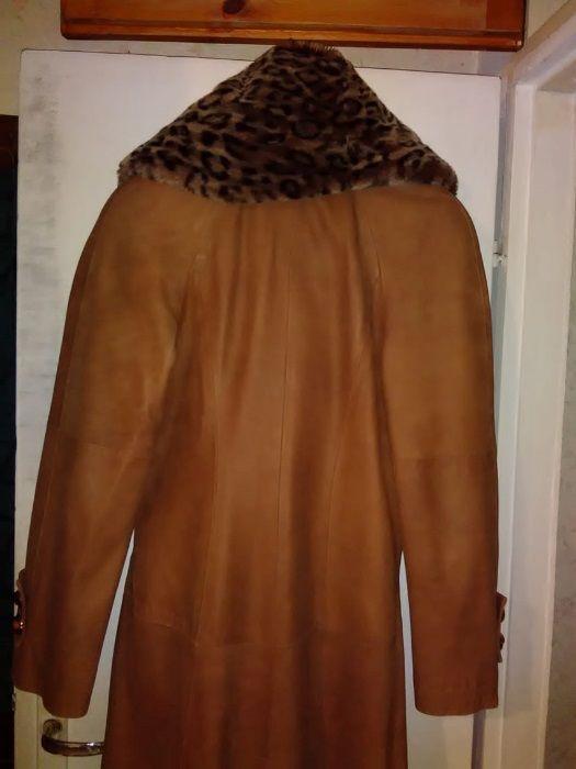 Палто от естествена кожа
