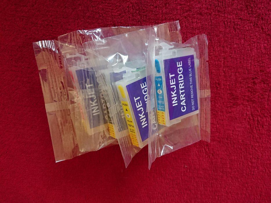 set cartuse reincarcabile epson T0711, T0712, T0713, T0714