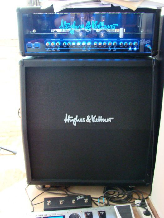 Amplificator chitara Half-stack Hughes&Kettner Trilogy