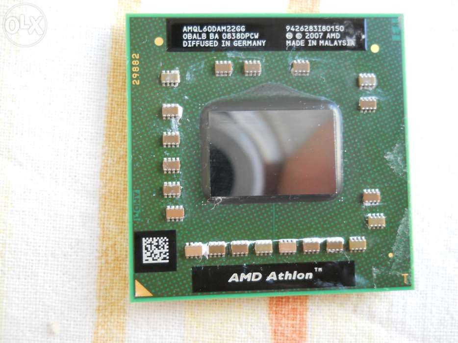 Vând procesor de laptop AMD Athlon