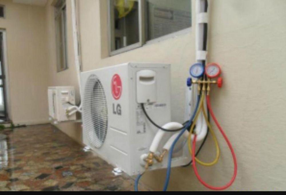 Incărcare cu freon aer condiționat R410A si R 407C