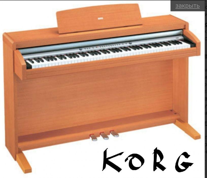 Профессиональное пианино KORG