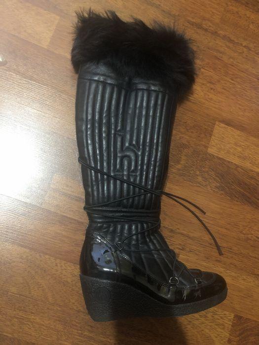 Сапоги зимние тёплые модные Hogl