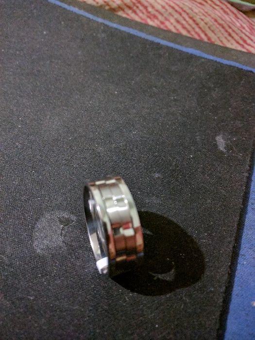 Super inel barbatesc tytanium steel, absolut nou, nefolosit