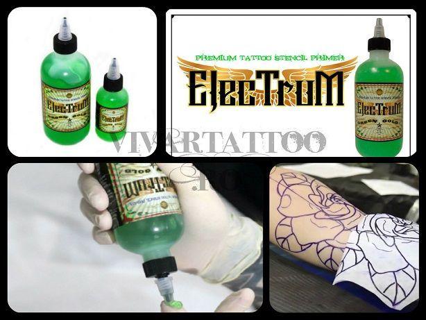 Solutie Transfer Tatuaje ELECTRUM stencil Solutie sablon tatuaj tattoo