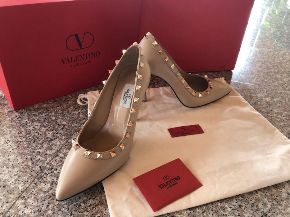 Pantofi Valentino/piele naturala nu ecologica/calitate superioara