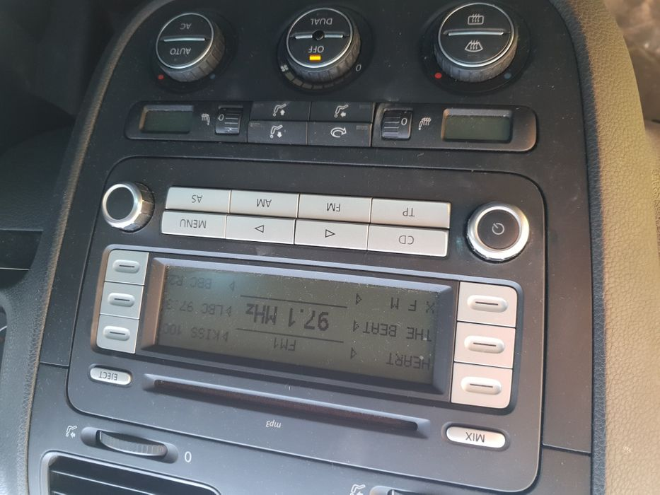 Cd player mp3 Volkswagen Golf 5 Passat tiguan touran eos scirocco etc