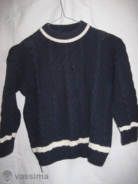 Детски пуловер Benetton, памук 100%