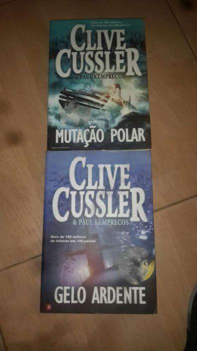 Conjunto de obras de CLIVE CUSSLER.