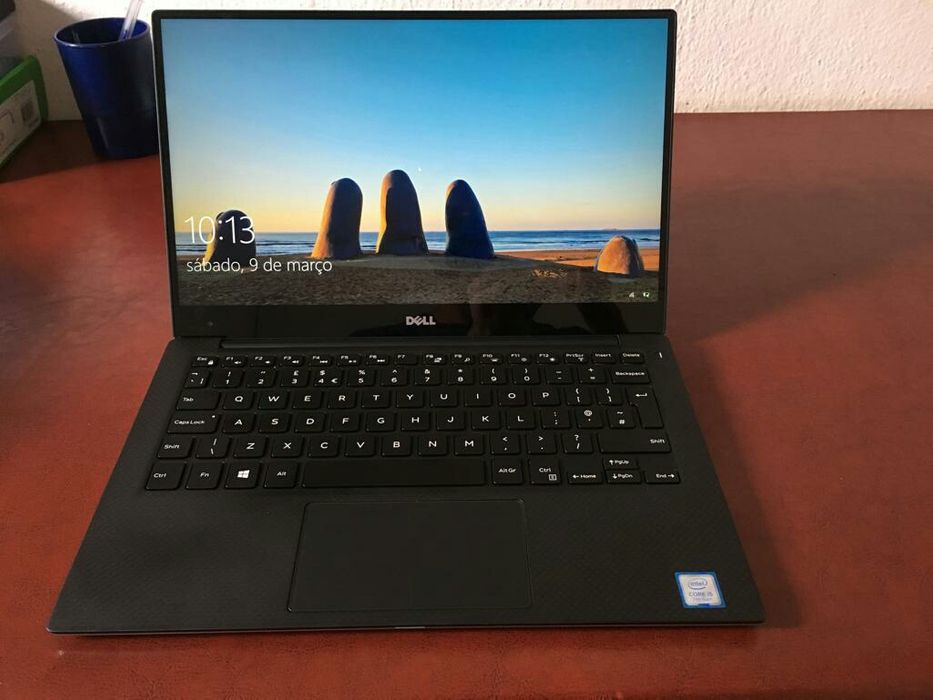 "Dell XPS 13"" 4K Touch screen Core i5 7a geração 8GB RAM 256GB SSD M.2"
