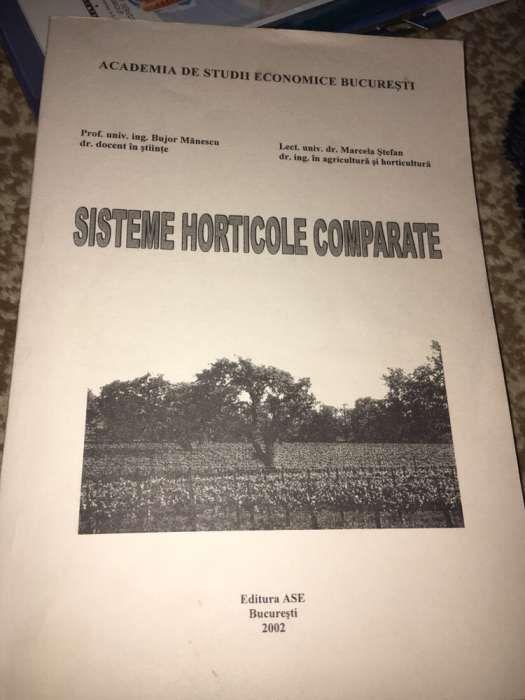 Carte Sisteme Horticole Comparate Bujor Manescu Marcela Stefan ASE