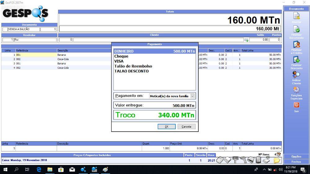 Software Profissional para facturacao - Sage Gespos