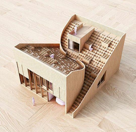 Estudante de arquitetura
