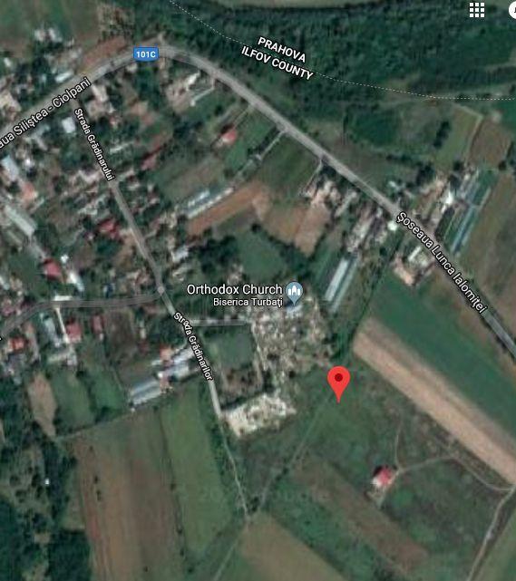 Teren Silistea Snagovului, comuna Gruiu, 923 mp intravilan