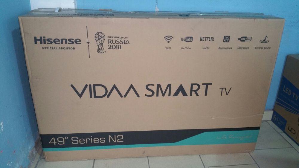 Super promoção, Tvs hisense 49 polegadas LED FULL HD SMART Bairro do Jardim - imagem 1