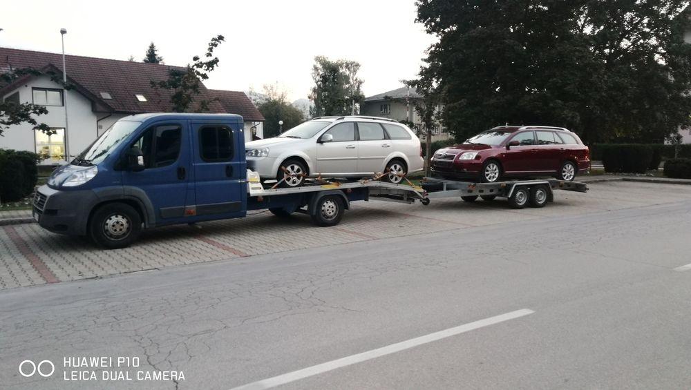 Предлагам транспорт на автомобили от и за Словения