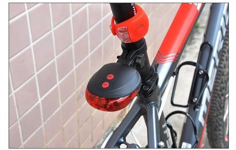 Водонепроницаемый ЛАЗЕРНЫЙ STOP сигнал на велосипед