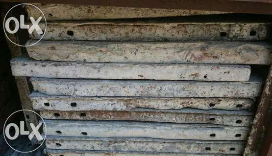 Около 42 бр.метални кофражни платна 50/100см
