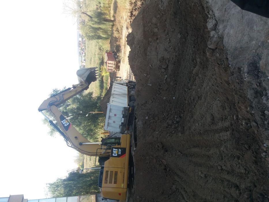 Demolari Săpături PServici camion 8×4 excavator trailer buldoexcavator