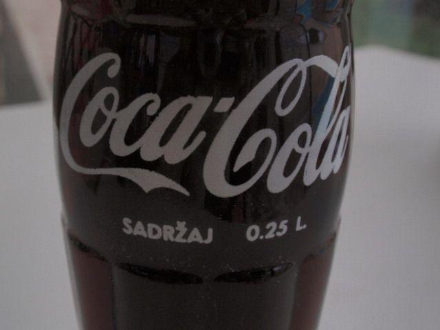 Бутилка с Кока Кола от 1972 година - Любляна Югославия