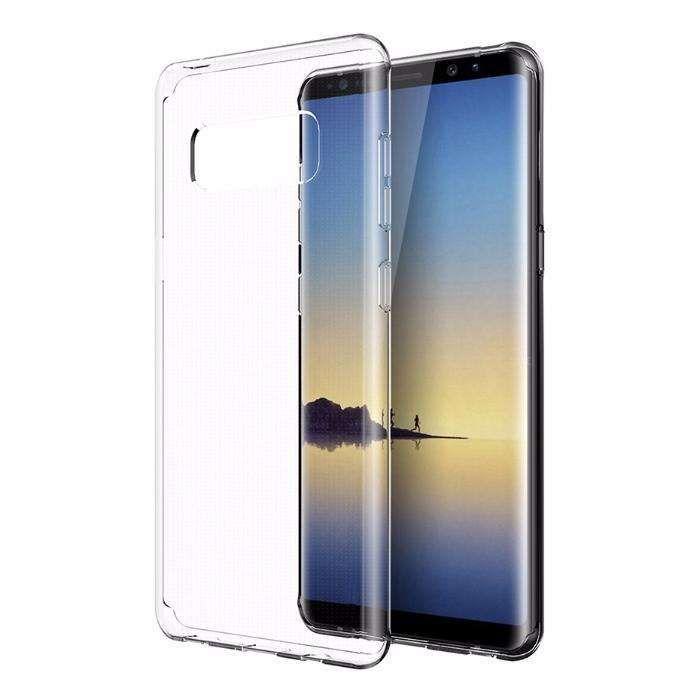Samsung Note 8 9 S8 S8+ S9 S9+ Husa Slim 0.3 Transparenta Din Silicon