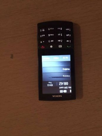 Nokia X3-02 blck ca nou folie pe displai,are o mica dunga neagra,orig