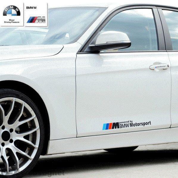 Код 7. Стикери BMW motorsport и M Power / Бмв Моторспорт и М