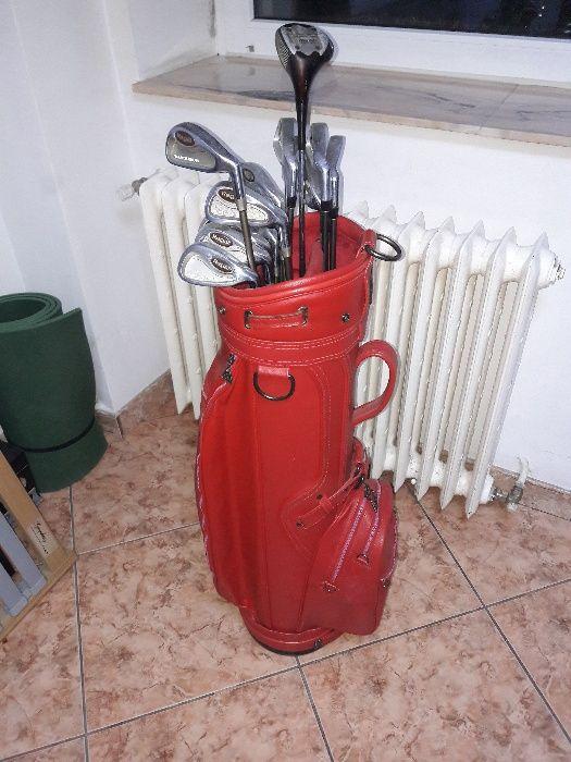 crose de golf 14 buc marca regal nucelus cu GEANTA DAIWA pentru profis