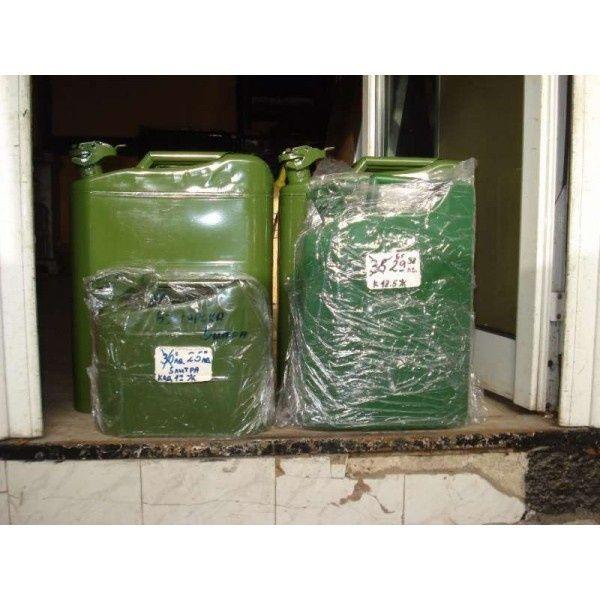 Железни туби- 5, 10 и 20 литра