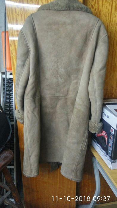 Мъжко кожено палто не е носено размер 54-56