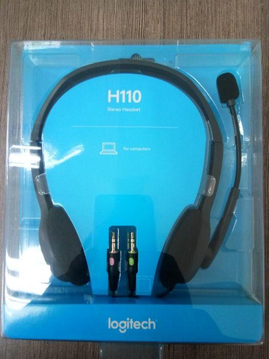 Fone de ouvido estereo LOGITECH H110