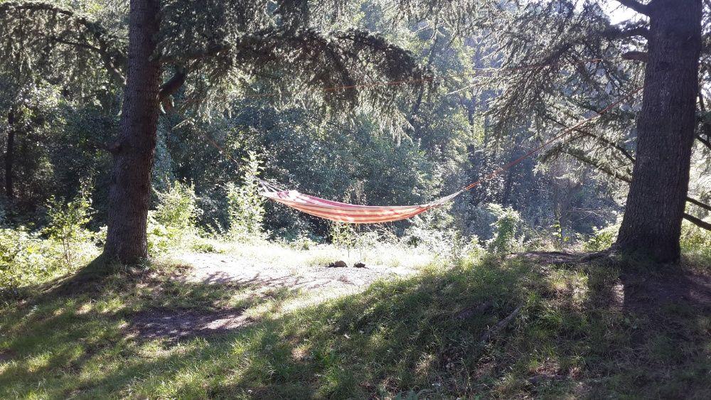 ХАМАК от плат и дърво