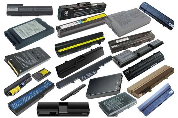 Baterias de laptop novas seladas