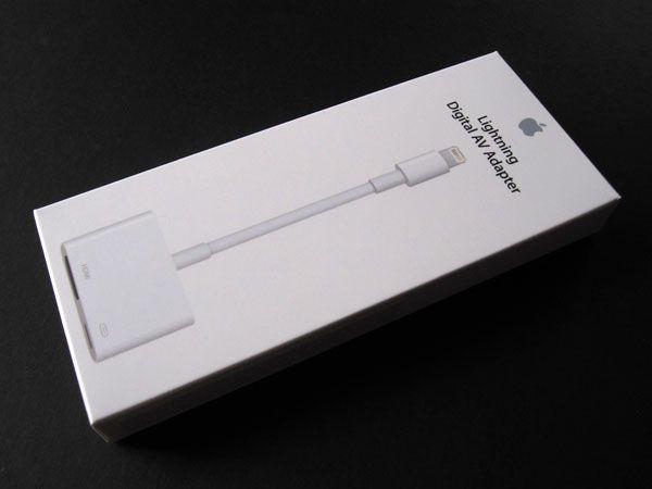 Адаптеры для подключения Iphone/Ipad к TV-Lightning-HDMI/VGA